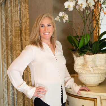 Susan Zackin, the owner of Z Event Company, a corporate event planner in Metairie, LA