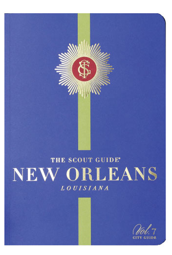 The Scout Guide New Orleans icon representing the September 2018 feature of birthday event planner Z Event Company in New Orleans, LA