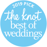 The logo for the Knot's 2019 picks for best of weddings, which included birthday event planner Z Event Company in Metairie, LA